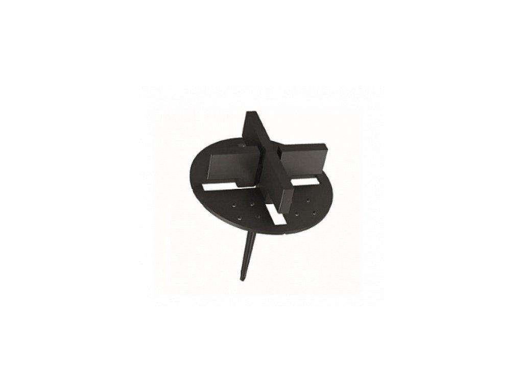 Spárovací křížek pro písek, štěrk s trnem 2 mm