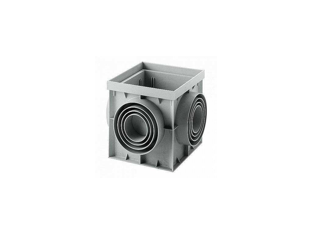 Kanálová šachta MM 400x400 - 2. jakost