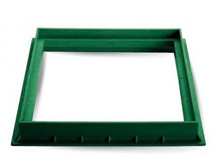 Rám z PP 200X200 zelený