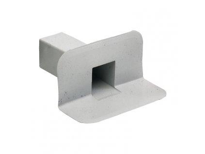 Boční střešní vpusť PVC 100x100 90°