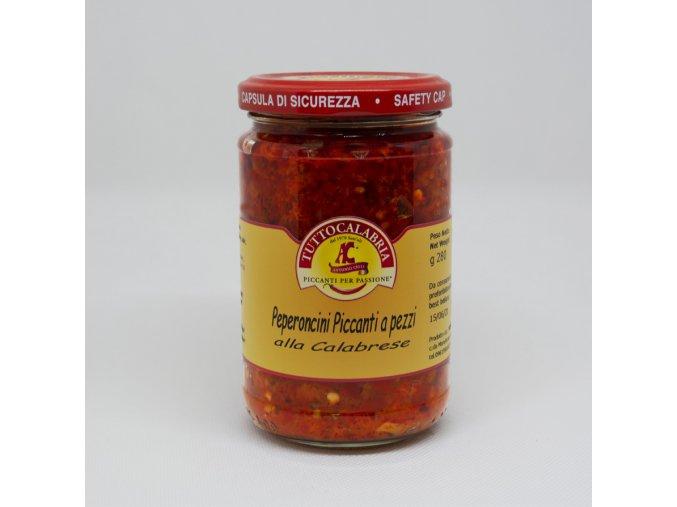 pikantní papričky alla Calabrese