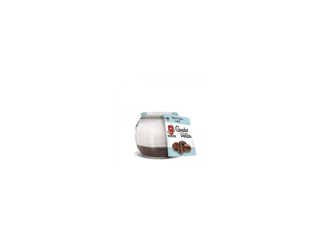 Jogurt káva Intero 170g sklenička