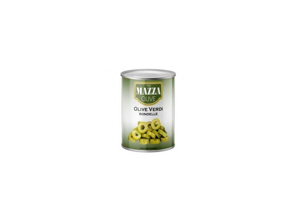 Olivy zelené - kroužky 2,6kg