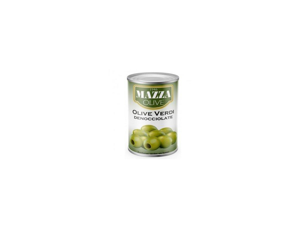 Olivy zelené celé bez pecek 2,6kg