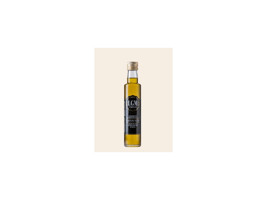 0001004 condimento aromatizzato al tartufo nero 250ml a base di olio extravergne di oliva