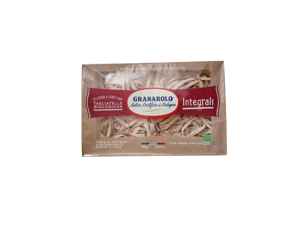 Semolinové těstoviny Granarolo Celozrnné BIO 250g