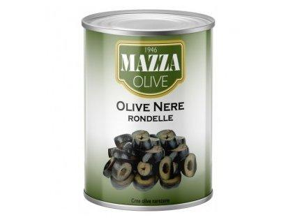 Olivy černé - kroužky 2,6kg