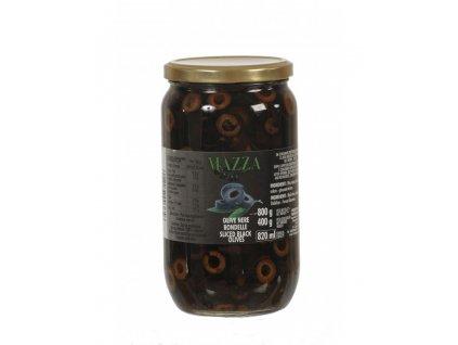 olive nere rondelle vaso gr 800