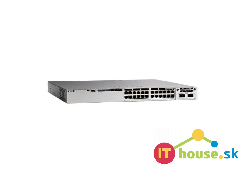 C9200L-24P-4G-A Catalyst 9200L 24-port PoE+, 4 x 1G, Network Advantage, C9200L-24P-4G-A