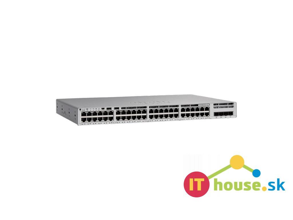 C9200L-48P-4G-E Catalyst 9200L 48-port PoE+, 4 x 1G, Network Essentials, C9200L-48P-4G-E