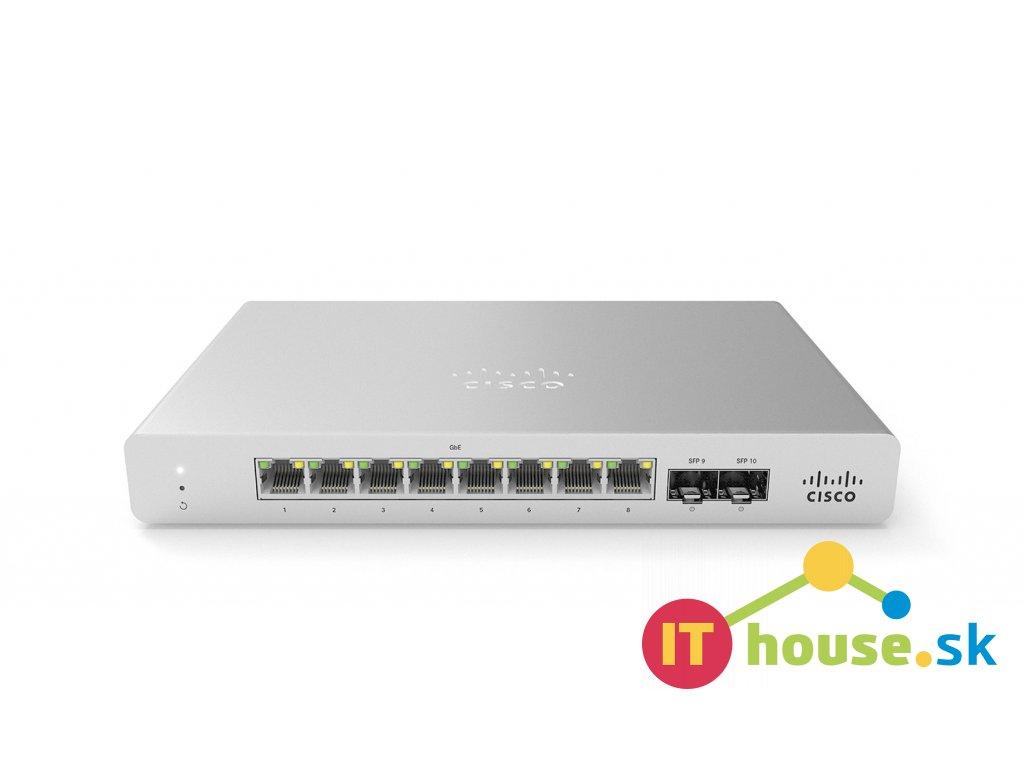 MS120-8-HW Cisco Meraki MS120-8-HW Cloud Managed Switch