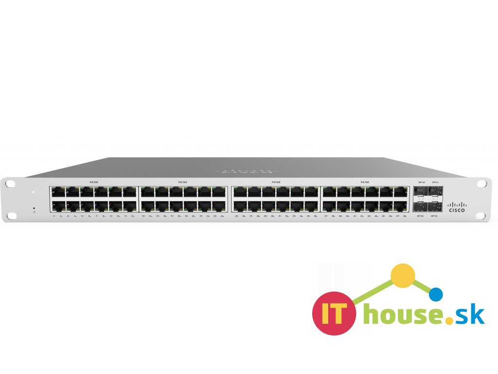 MS120-48-HW Cisco Meraki MS120-48-HW Cloud Managed Switch