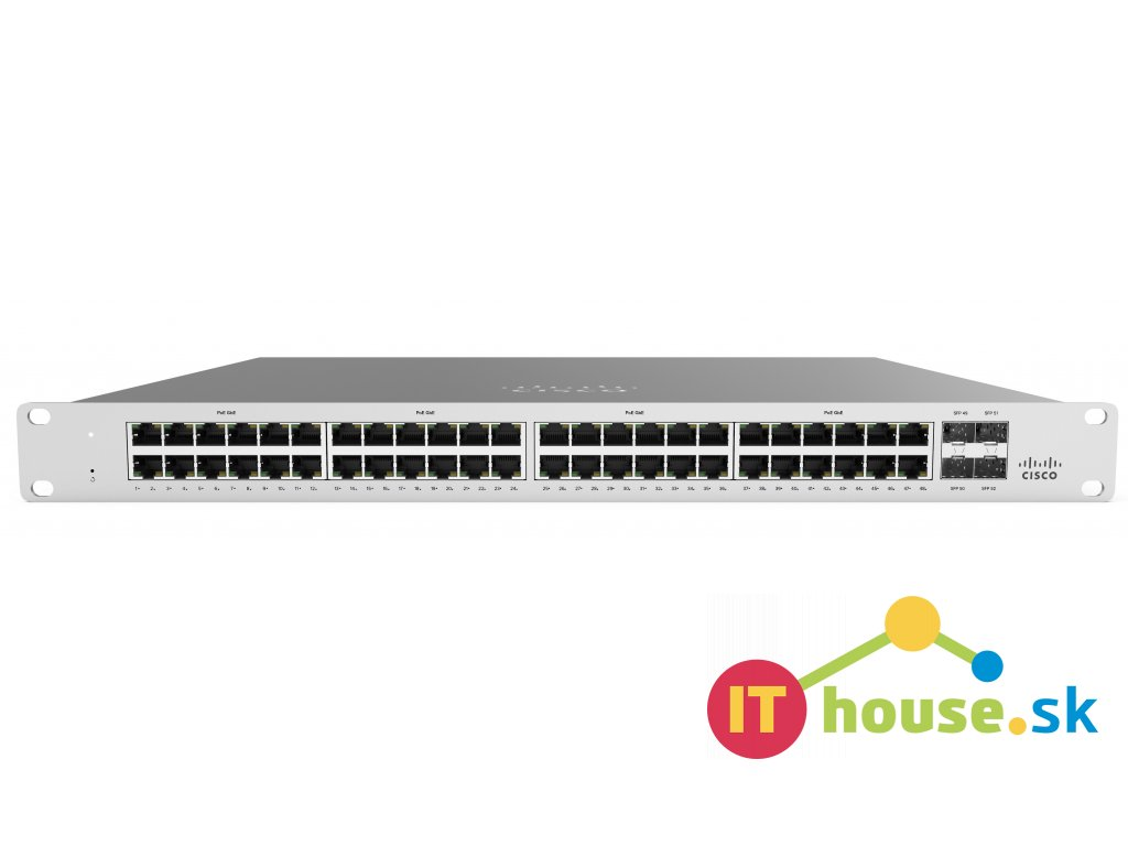 MS120-48LP-HW Cisco Meraki MS120-48LP-HW Cloud Managed Switch