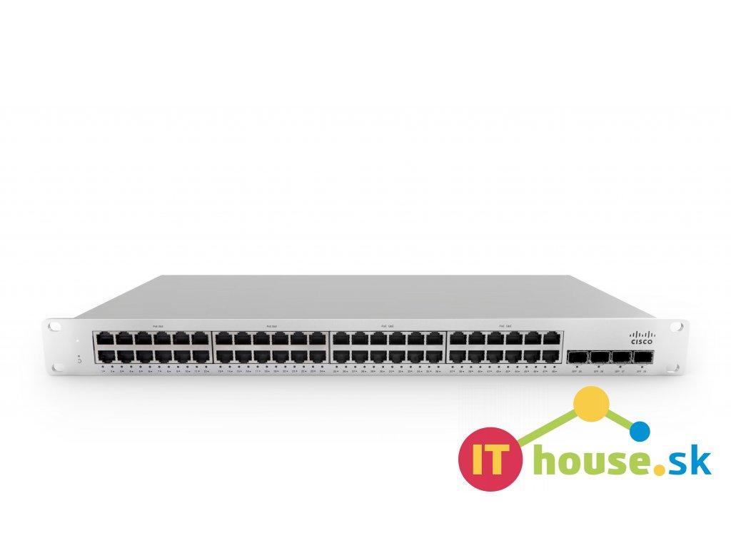 MS210-48-HW Cisco Meraki MS210-48 1G L2 Cld-Mngd 48x GigE Switch