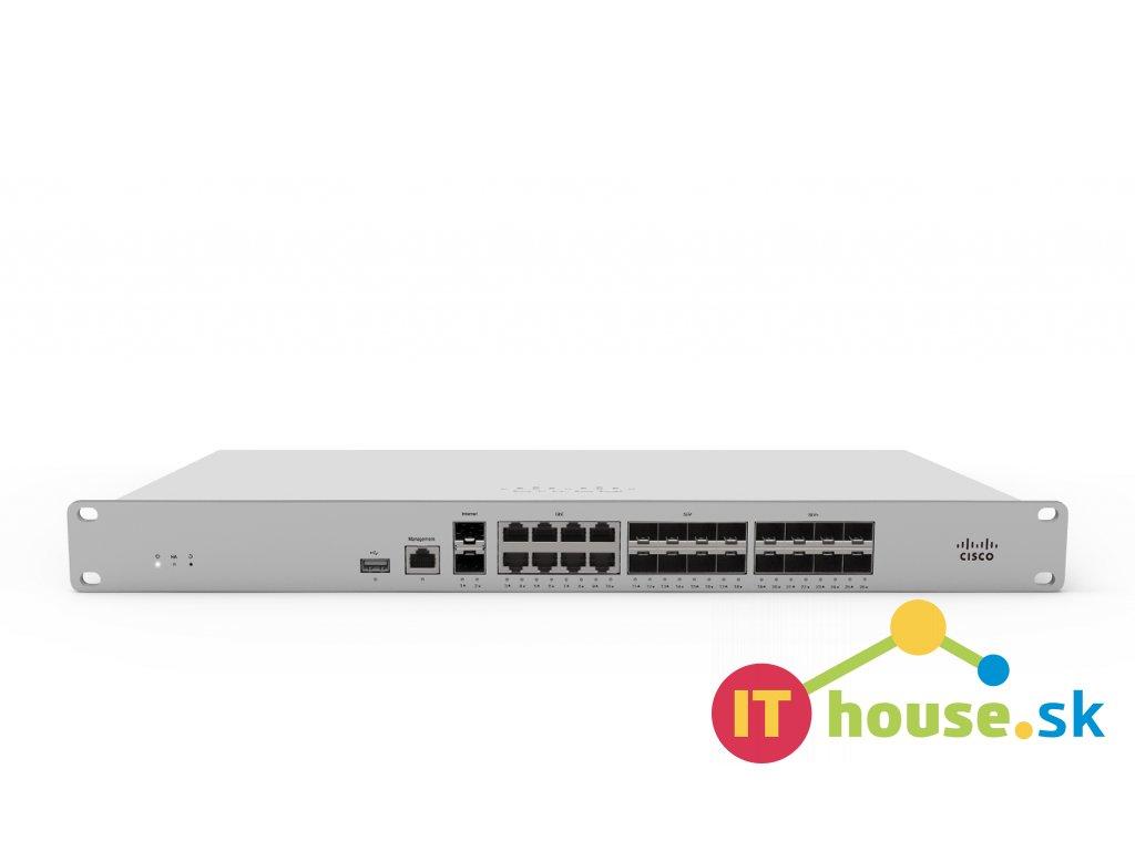 Cisco Meraki MX250 Cloud Mngd Security Appliance