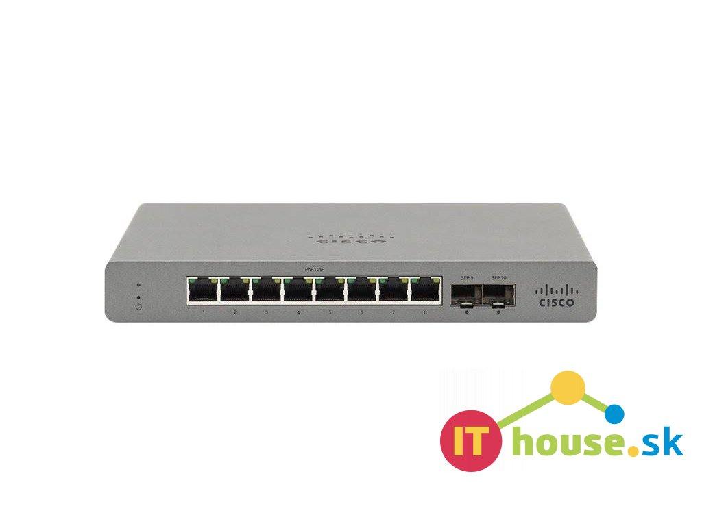 GS110-8P-HW-EU CISCO Meraki GO - GS110-8P 8-Port PoE switch