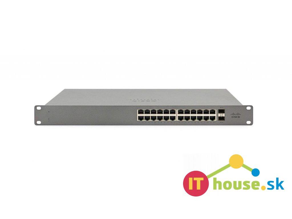 GS110-24P-HW-EU CISCO Meraki GO - GS110-24P 24-Port PoE switch