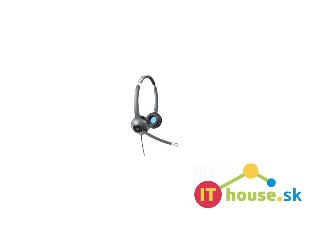 Cisco Headset 522 (Wired Dual with 3.5mm connector and USB-A Adapter)