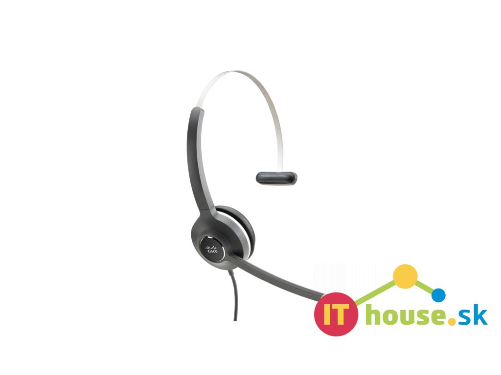 Cisco Headset 531 (Wired Single with Quick Disconnect coiled RJ Headset Cable)