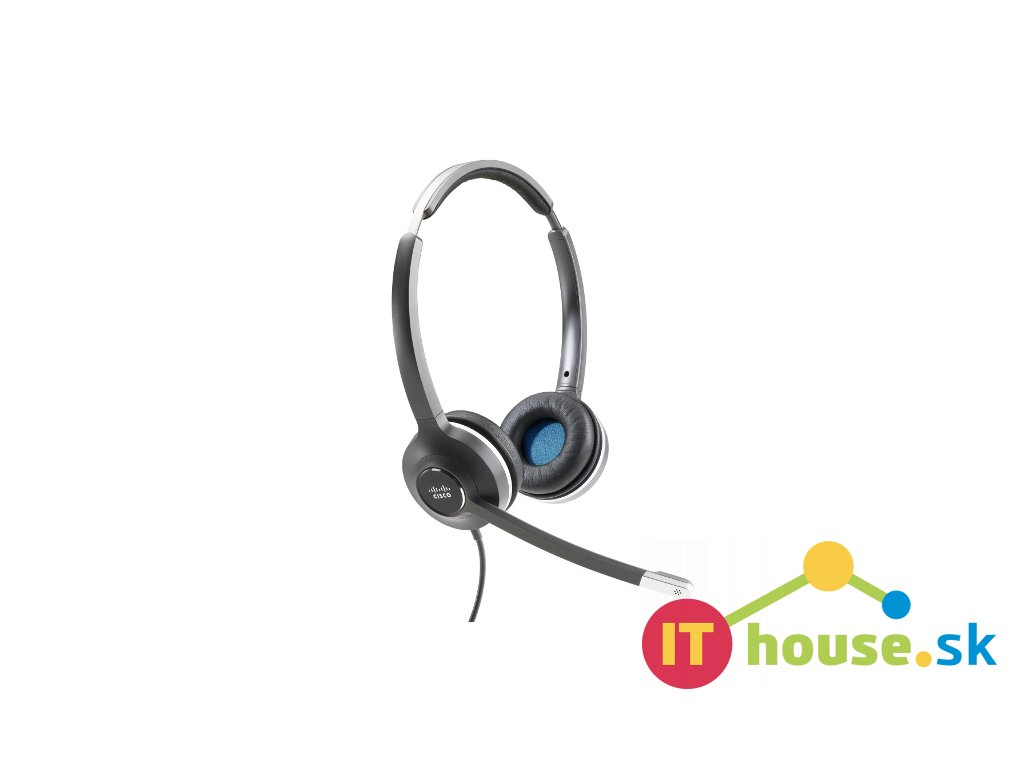 Cisco Headset 532 (Wired Dual with USB-C Headset Adapter)