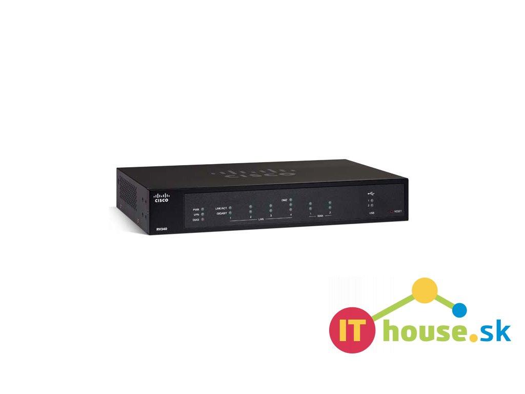 RV340-K9-G5 Cisco RV340 Dual WAN Gigabit VPN Router