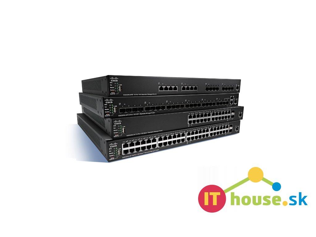 SG350X-48P-K9-EU Cisco SG350X-48P-K9-EU - nový nástupce CBS350