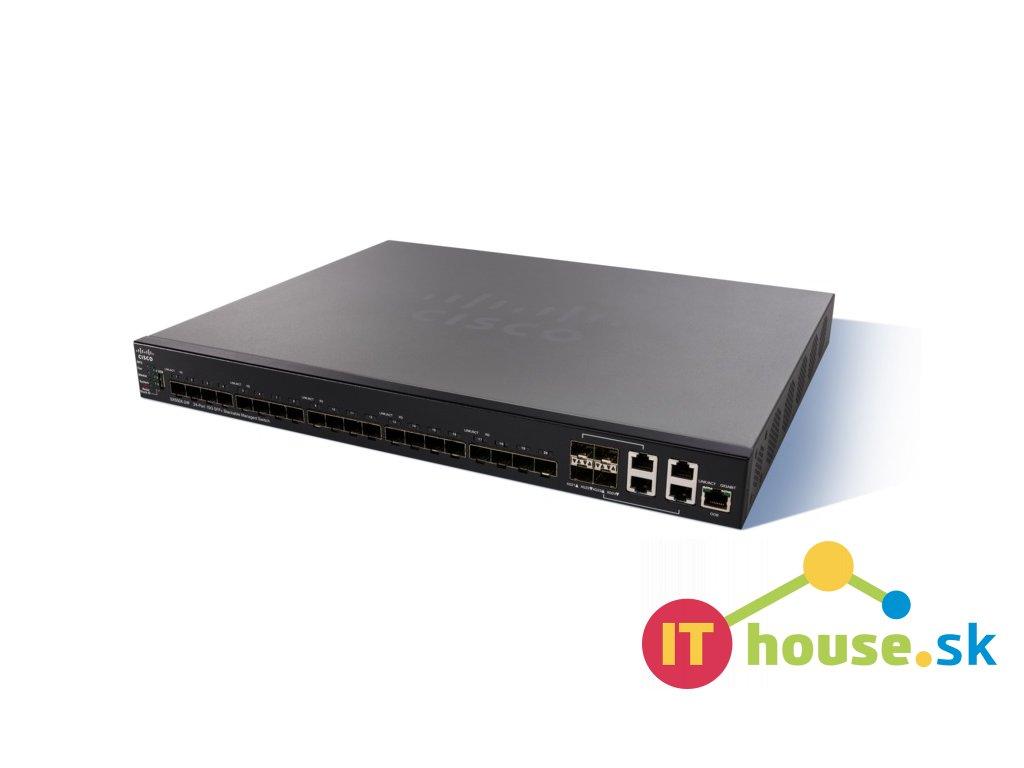 SX550X-24F-k9-EU Cisco SX550X-24F 20x10 GE SFP+4x10 GE combo