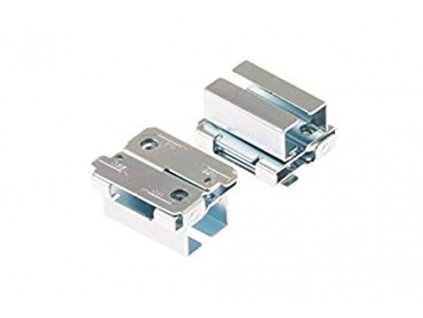 Optional adapter for channel-rail ceiling grid profile