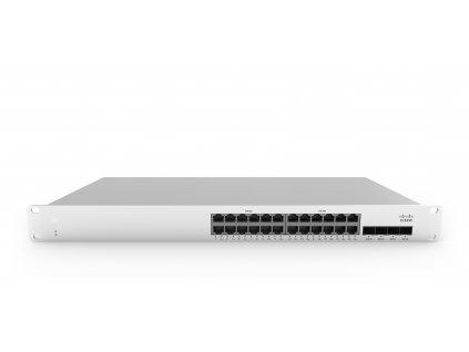 MS210-24P-HW Cisco Meraki MS210-24P 1G L2 Cld-Mngd 24x GigE 370W PoE Switch