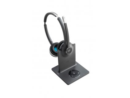 Cisco Headset 562 Wireless Dual Headset with Multibase Station. Frequency Band: Europe, U.K.