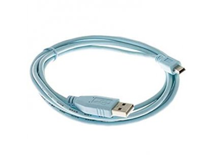CAB-CONSOLE-USB= Console Cable 6 Feet with USB Type A and mini-B Connectors