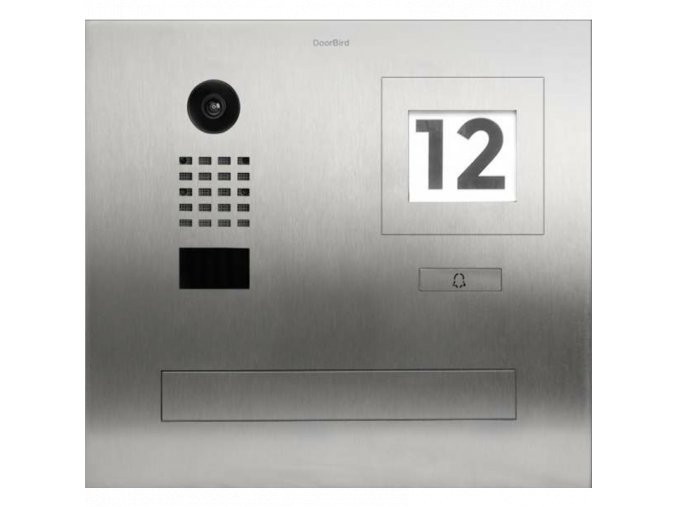 D2101FPBI, Video Door Station flush mounted postbox,1 button
