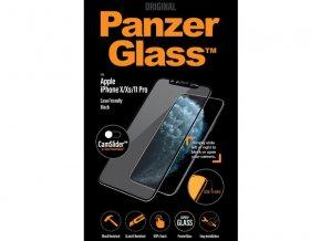 18500 panzerglass iphone x xs 11 pro black tvrzene sklo s krytem kamery