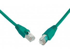SOLARIX patch kabel CAT6 UTP PVC 5m zelený snag-proof