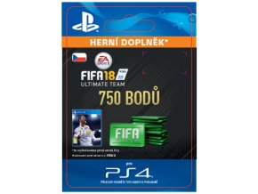 ESD CZ PS4 - 750 FIFA 18 Points Pack