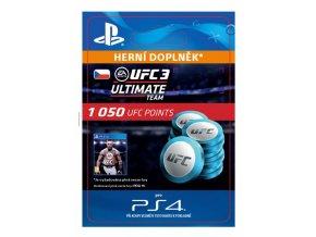 ESD CZ PS4 - EA SPORTS™ UFC® 3 - 1050 UFC POINTS