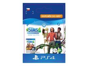 ESD CZ PS4 - The Sims™ 4 Bundle - Seasons, Jungle adventure, Spooky staff