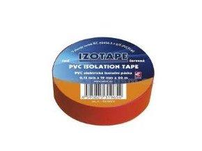 PremiumCord Izolační páska PVC 15/10 červená
