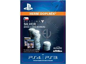 ESD CZ PS4 - 2000 (+300 Bonus) Destiny Silver