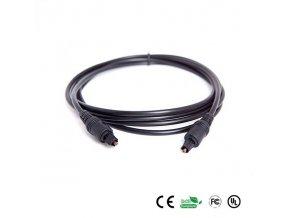PremiumCord Kabel Toslink M/M, OD:4mm, 5m