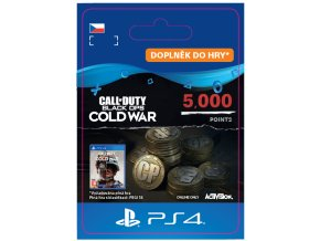 ESD CZ PS4 - 5,000 Call of Duty®: Black Ops Cold War Points