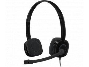 Náhl. sada Logitech stereo Headset H151