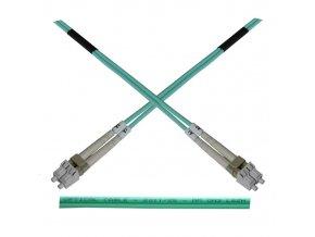 Optický patch kabel duplex LC-LC 50/125 MM 5m OM3