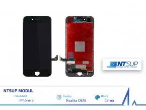 NTSUP LCD modul iPhone 8 PLUS černý kvalita B