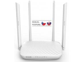 Tenda F9 WiFi N Router 600Mb/s, 802.11 b/g/n, WISP, Universal Repeater, 4x 6dBi