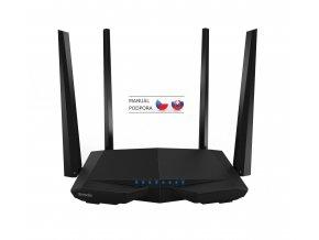 Tenda AC6 WiFi AC Router 1200Mb/s, VPN server/klient, WISP, Universal Repeater, 4x5dBi antény