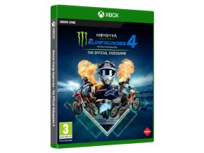XONE - Monster Energy Supercross 4