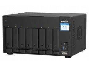 QNAP TS-832PX-4G (1,7GHz, 4GB RAM, 8x SATA, 2x 2,5GbE, 2x 10G SFP+, 1x PCIe slot, 3x USB 3.2)