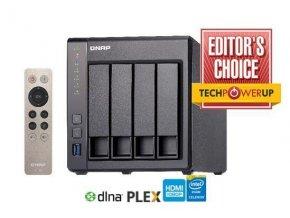QNAP TS-451+-8G (2,42GHz / 8GB RAM / 4x SATA/ 2x GbE / 1x HDMI / 2x USB 2.0 / 2x USB 3.0)