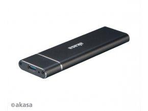 AKASA USB 3.1 Gen 2 externí rámeček pro M.2 SSD